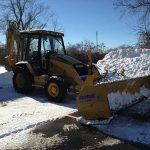 Commercial snow removal in West Bloomfield MI