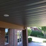 Enhance the ceiling of your outdoor living area with trex in Novi MI