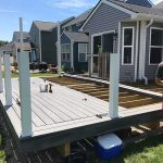 Custom deck installation in South Lyon MI