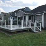 Add a deck to your home to improve the value in Novi MI