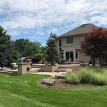 A well landscaped home with a beautiful patio in West Bloomfield MI
