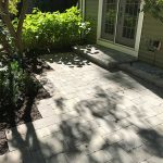 Paver pathway to a sliding glass door in West Bloomfield MI
