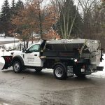 Images Landscaping commercial snow plowing in Novi MI