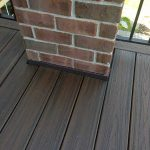 Detailed trim on a finished deck in Commerce MI
