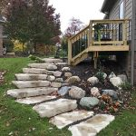 Add stone steps to your hardscaping plans in South Lyon MI